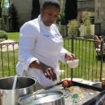 Journée dégustation Toute la Marée : Geogiana San avec la crevette Saphira